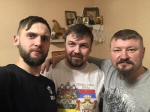 Денис Антипов, Вадим Грачев, Григорий Базлов