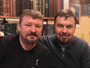 Григорий Николаевич Базлов и Вадим Грачев
