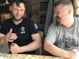 Денис Антипов и Григорий Николаевич Базлов.