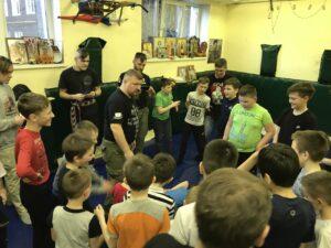 Григорий Николаевич Базлов, Буза, тренировка.