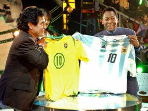 Марадона и Пеле
