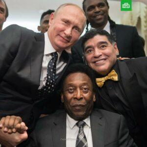 В. В. Путин, Марадона, Пеле