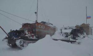 Метель, Антарктида