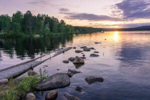 Финляндия, озеро