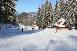 Словакия, горнолыжный курорт