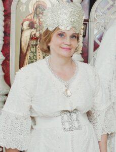алентина Аверьянова, русский костюм