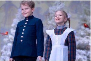 Ученики «Русской школы Марии Аверьяновой»