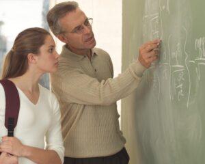 Профессор и студентка