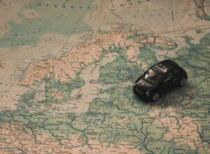 Карта, автомобиль