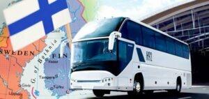 Поездка в Финляндию на автобусе