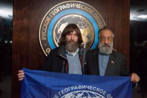 Фёдор Конюхов и Артур Чилингаров