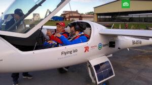 Тренировочный полёт в Крым