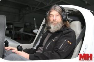 В пилотской кабине