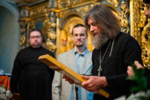 Фёдор Конюхов в храме