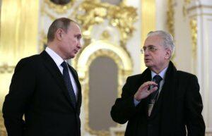 Михаил Пиотровский с Владимиром Путиным