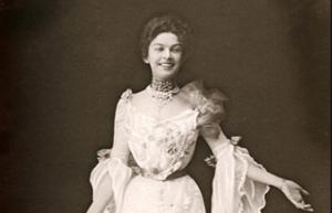 Певица Анастасия Вяльцева