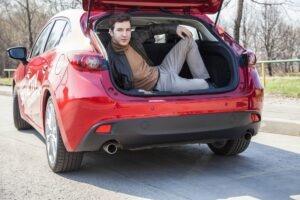 Илья Викторов, авто, машина, за рулём