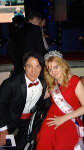 Эвклид Кюрдзидис с Викторией Хворостяновой