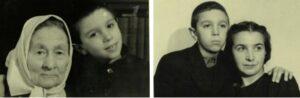 Бабушка и мама Эдуарда Артемьева