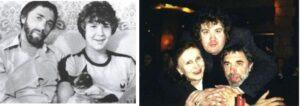 Эдуард Артемьев с женой и сыном