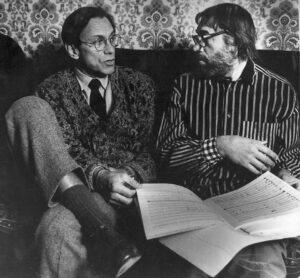 Андрей Кончаловский и Эдуард Артемьев