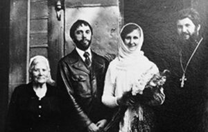 Эдуард и Изольда Артемьевы. Венчание