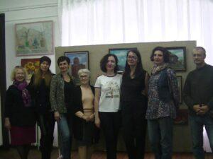 На выставке Ольги Биценти