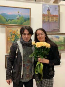 Эвклид Кюрдзидис и Ольга Биценти