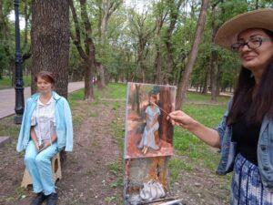 Светлана Фатьянова и Ольга Биценти